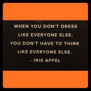 Other - DRESS THE WAY U FEEL;OR DRESS TO FEEL THE WAY WANT